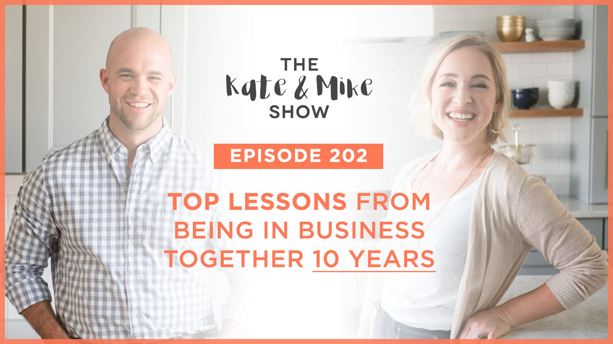 Top Lessons from 10 Years in Business Together