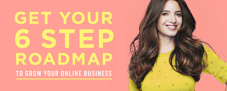 Get your 6 step roadmap to grow your online business